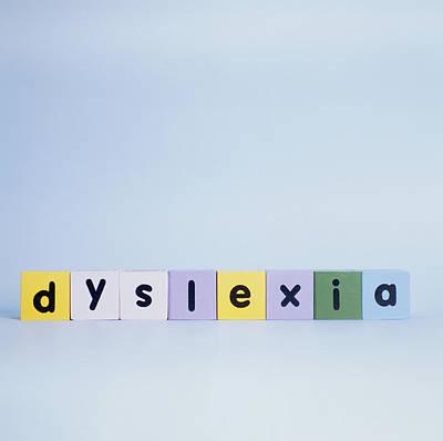 Dyslexia Print by Cristina Pedrazzini