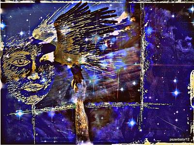 Eagle What Loves Heights And Have Confidence In Your Talon Print by Paulo Zerbato