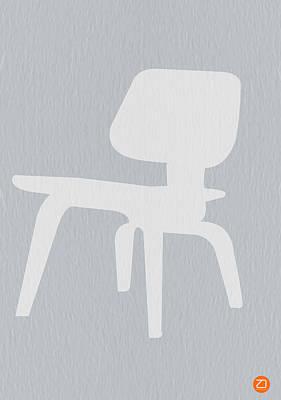 Eames Plywood Chair Print by Naxart Studio