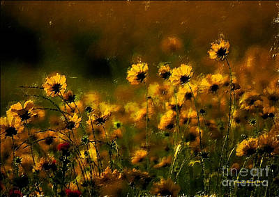 Early Spring Mixed Media - Early Evening by Jerry L Barrett