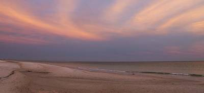 Panama City Beach Fl Photograph - East - After The Sunset by Sandy Keeton