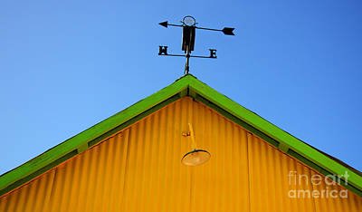 Weathervane Photograph - East Of The Sun West Of The Moon by Bob Christopher