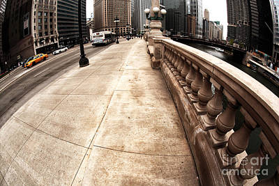 Riverwalk Photograph - East Wacker by John Rizzuto