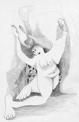 Ecstatic Marton Print by Albert Notarbartolo