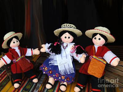 Ecuador Doll Art Print by Al Bourassa