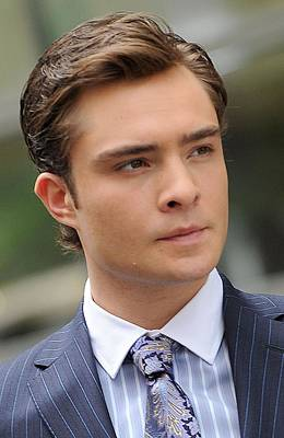 Paparazziec Photograph - Ed Westwick On Location For Gossip Girl by Everett