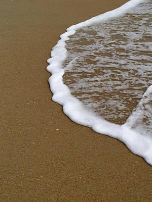 Terra Firma Photograph - Edge Of The Ocean by Jeremy Allen