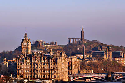 The Photograph - Edinburgh Scotland - A Top-class European City by Christine Till