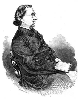 Eduard Moerike (1804-1875) Print by Granger