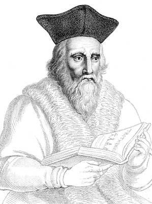 Edward Kelley, English Alchemist Print by Science Source