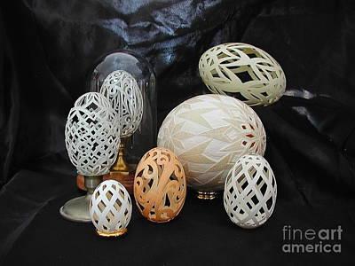 Eggshells 1 Print by Christina A Pacillo