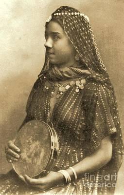 Earrings Photograph - Egyptian Dancing Girl by Padre Art
