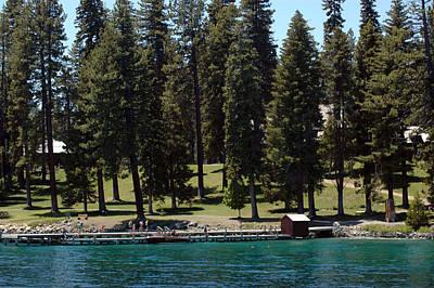 Pine Photograph - Ehrman Mansion Lake Tahoe by LeeAnn McLaneGoetz McLaneGoetzStudioLLCcom