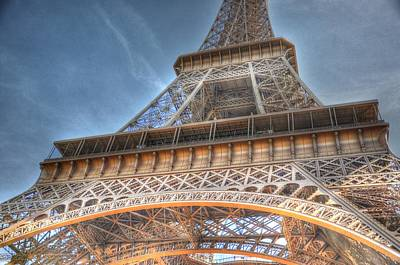 Eiffel Tower Print by Barry R Jones Jr