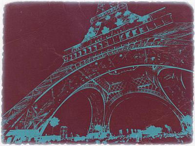 Eiffel Tower Digital Art - Eiffel Tower by Naxart Studio