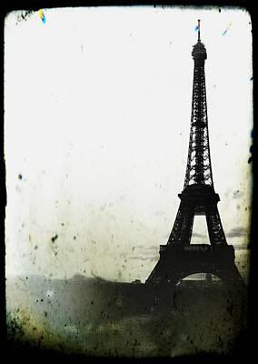 Surreal Landscape Photograph - Eiffel Tower - Paris by Marianna Mills
