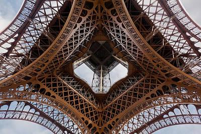 Eiffeltower Eiffel Tower Eiffelturm Print by H a r a l d B e r t l i n g