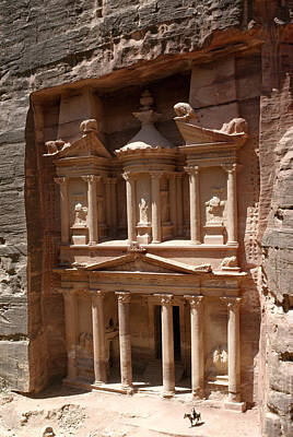 Elaborate Sandstone Temple Or Tomb Print by Luis Marden