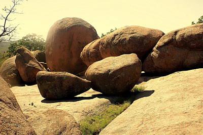 Elaphant Rocks 4 Print by Marty Koch