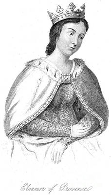 Eleanor Of Provence Print by Granger
