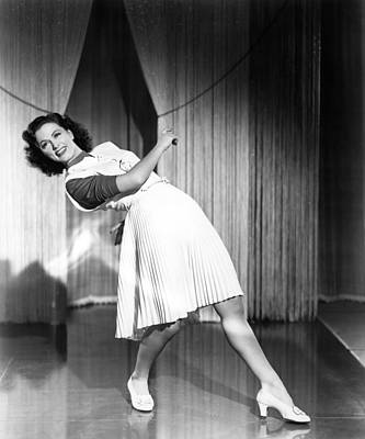 Eleanor Powell, Circa Early 1940s Print by Everett