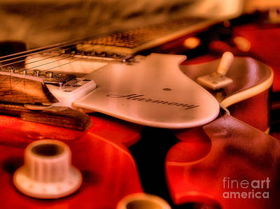 Electric Strings Print by Jimmy Ostgard