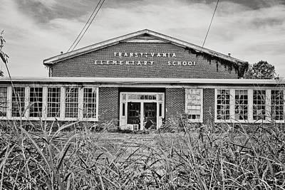 School Houses Photograph - Elementary School by Scott Pellegrin