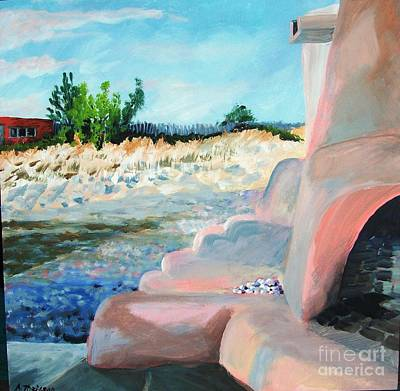 Pojoaque Painting - Elements - New Mexico Estate by Andrea Theisson