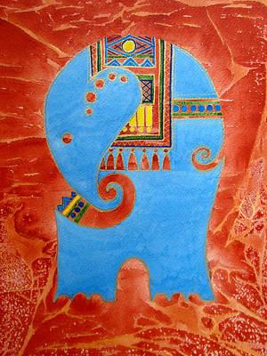 Elephant Print by Khromykh Natalia