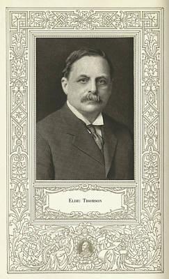 Elihu Thomson (1853-1937), American Engineer Print by Science, Industry & Business Librarynew York Public Library