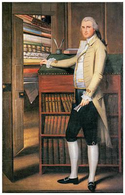 Colonial Man Painting - Elijah Boardman by Ralph Earl