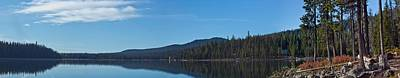 Elk Lake Oregon Panorama Print by Twenty Two North Photography