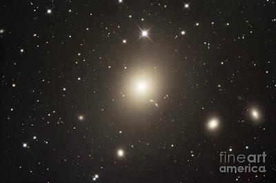 Elliptical Galaxy Messier 87 Print by Robert Gendler