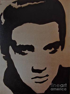 Elvis Print by Tom Evans