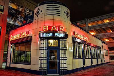 Elwood Bar And Grill Detroit Michigan Original by Gordon Dean II
