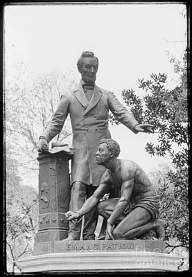 Emancipation Memorial, 1876 Print by Granger
