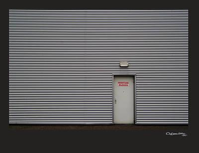 Xoanxo Digital Art - Emergency Exit by Xoanxo Cespon