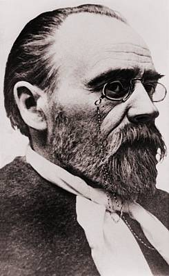 Emile Zola 1840-1902, French Novelist Print by Everett
