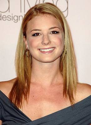 Emily Vancamp At Arrivals For 2009 Print by Everett