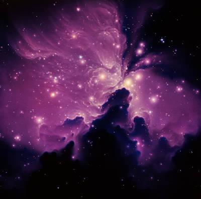 Emission Nebula Print by Joe Tucciarone