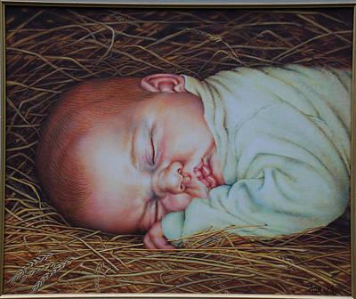 Emmanuel Print by Ruth Gee