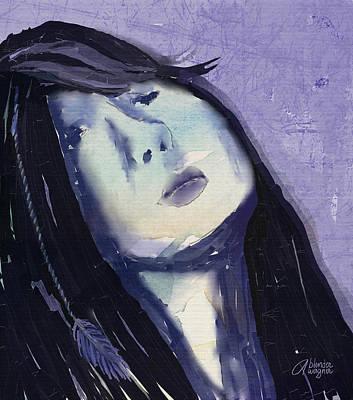 Portrait Digital Art - Emotional Feedback by Arline Wagner