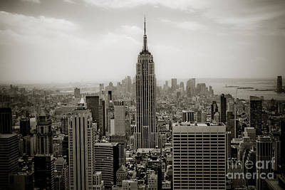 Empire State Print by Ken Marsh