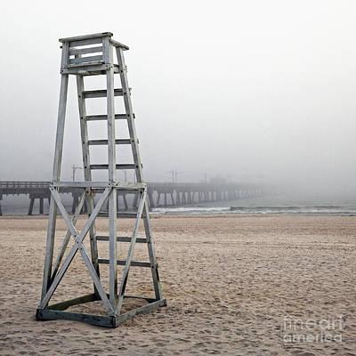 Panama City Beach Fl Photograph - Empty Lifeguard Chair by Skip Nall
