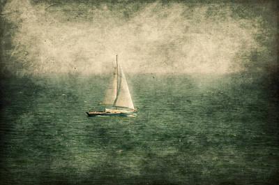 Empty Yacht  Print by Svetlana Sewell