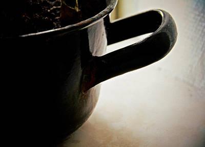 Stew Photograph - Enamel Pot by Odd Jeppesen