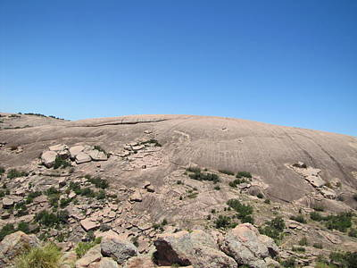 Enchanted Rock Print by Barry Moore