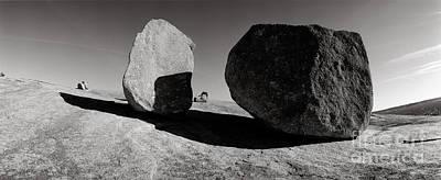 Enchanted Rock Print by David  Rusch