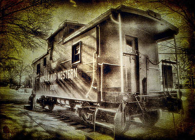 End Of The Line II Print by Steven Ainsworth