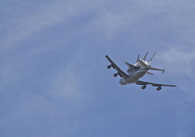 Endeavour's Last Flight Print by Molly Heng